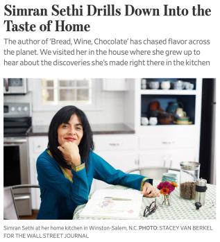 Simran Sethi Drills Down Into the Taste of Home - WSJ