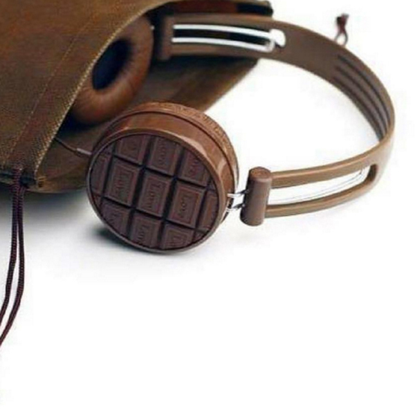 Chocolate headphones - Simran Sethi, The Slow Melt cropped