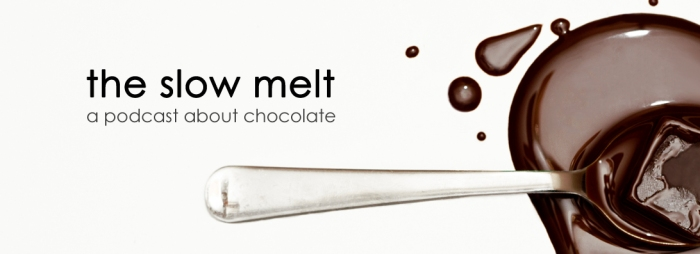 The Slow Melt chocolate podcast logo