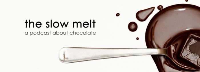 The Slow Melt chocolate podcast logo