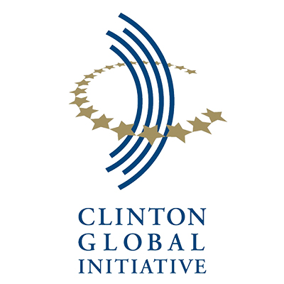 Clinton Global Initiative logo WB